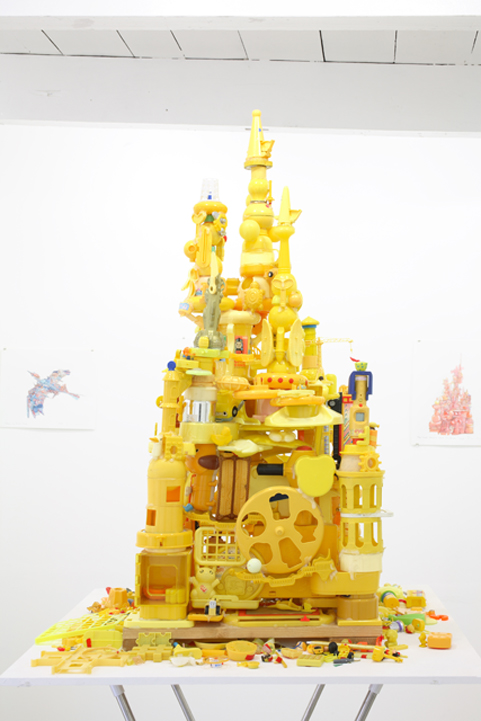 Toys Castle yellow Side A
